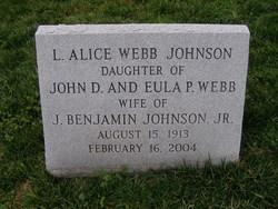 Lavina Alice <i>Web</i> Johnson
