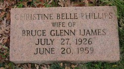 Christine Belle <i>Phillips</i> Ijames