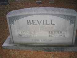 Mary Frances Fannie <i>Petty</i> Bevill