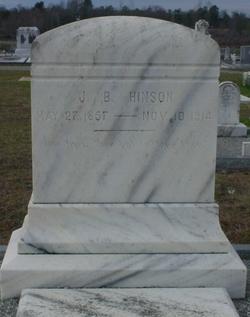 J. B. Hinson