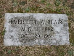 Everette A. Blair
