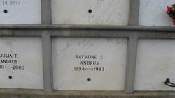 Raymond E Andrus