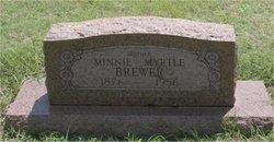 Minnie Myrtle <i>Williams</i> Brewer