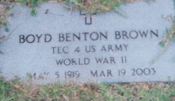 Boyd Benton Brown