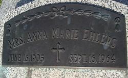 Anna Marie <i>Schoen</i> Ehlers