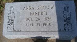 Anna Christina <i>Grabow</i> Fandrei