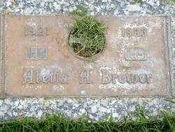 Aletia A <i>Dugger</i> Brewer