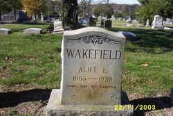 Alice L Wakefield