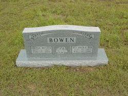 Rev Fred C Bowen