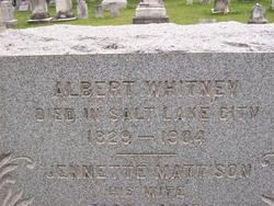 Albert Whitney