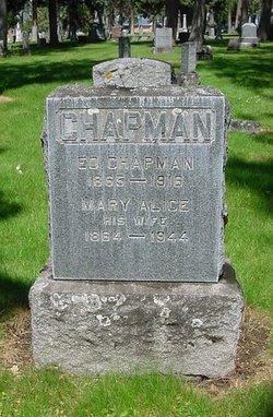 Mary Alice <i>Bemis</i> Chapman