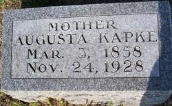 Augusta <i>Streich</i> Kapke