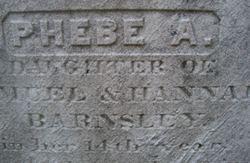 Phebe A. Barnsley