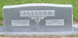 Bessie Ann <i>Walton</i> Allison