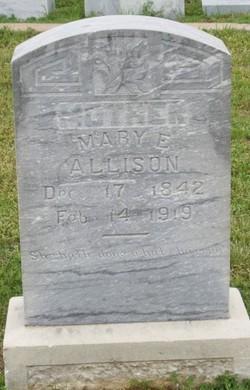Mary Elizabeth <i>Waldrop</i> Allison