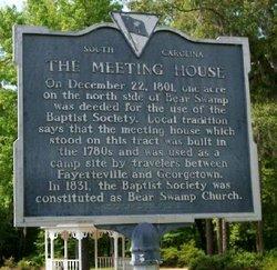 Bear Swamp Baptist Church Cemetery