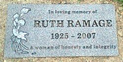 Ruth Ball Ramage