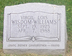 Vergil Lois <i>Wisdom</i> Williams