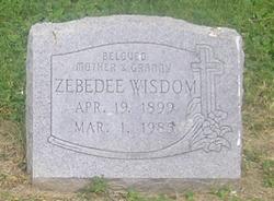 Zebedee <i>Daniel</i> Wisdom