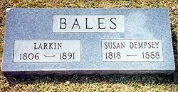 Susan <i>Dempsey</i> Bales