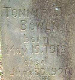 Tonnie O. Bowen