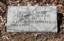 B Elisabeth <i>Leonard</i> Crabb