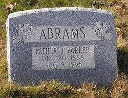 Esther J. <i>Parker</i> Abrams