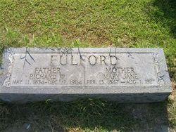 Capt Richard Whitehurst Fulford
