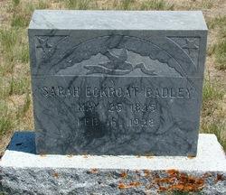 Sarah <i>Eckroat</i> Badley