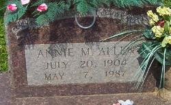 Annie Marie <i>Whited</i> Allen