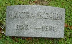 Martha M <i>Probasco</i> Baird