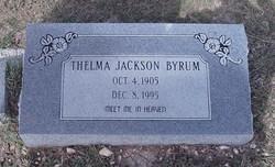Thelma Jackson Byrum