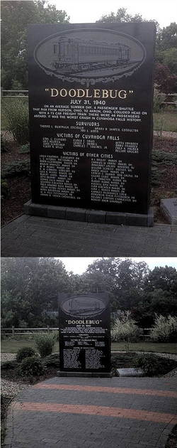 Doodlebug Memorial Monument