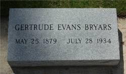 Gertrude <i>Evans</i> Bryars
