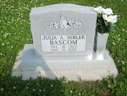 Julia Ann <i>Hibler</i> Bascom