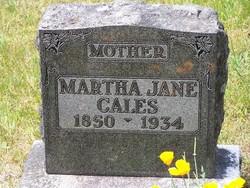 Martha Jane Jennie <i>Boyd</i> Cales