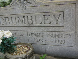 Lela Zolemma Lemmie <i>Elliott</i> Crumbley
