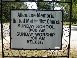 Allen Lee Memorial UMC Cemetery
