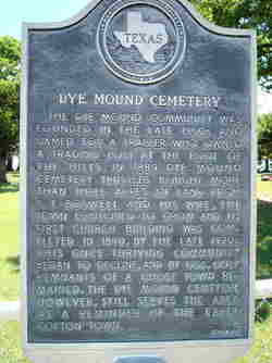 Dye Mound Cemetery