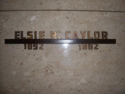 Elsie <i>Strunk</i> Ramsey Caylor