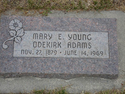Mary Ellen <i>Young</i> Adams