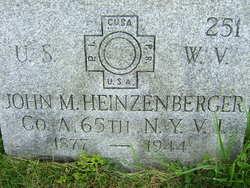 John M Heinzenberger