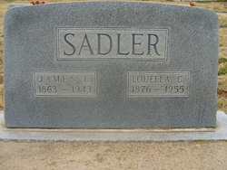 Frances Louella <i>Crowder</i> Sadler