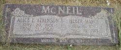 Alice Elizabeth <i>Atkinson</i> McNeil