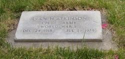 Ivan H Atkinson