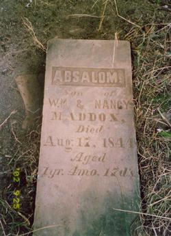 Absalom Maddox