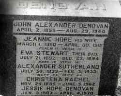 Jeannie <i>Hope</i> Denovan