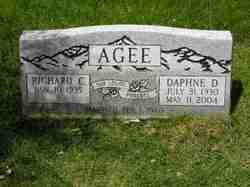 Daphne Dean <i>Fisher</i> Agee