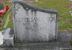Hettie <i>Sanderson</i> Clark
