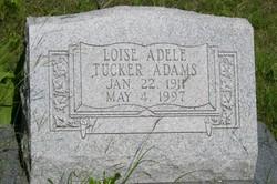 Loise Adele <i>Tucker</i> Adams
